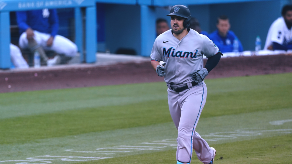 Marlins Avoid Sweep By Dodgers