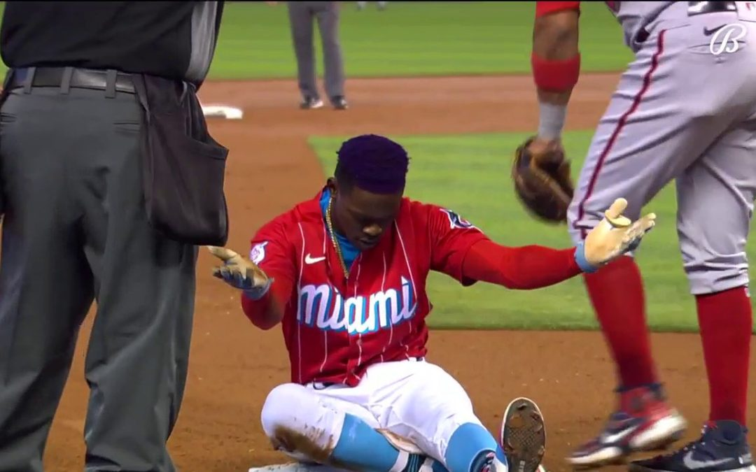 Marlins Rookies Spur Split with Nationals